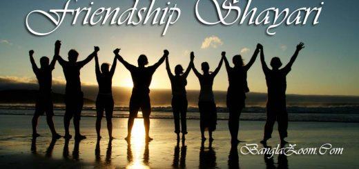 friendship shayari bengali status