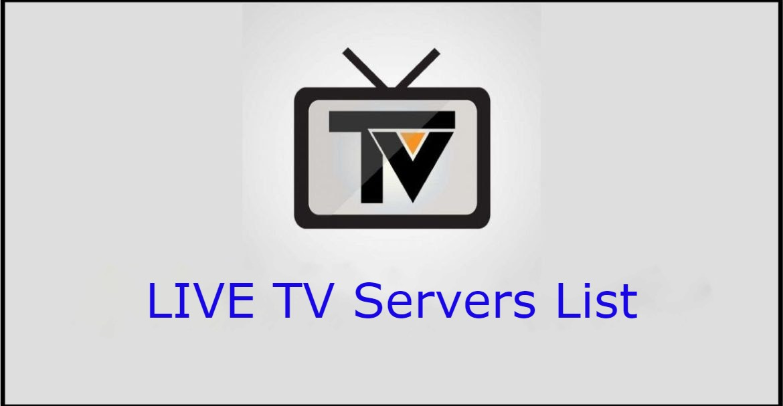 LIVE TV Servers List